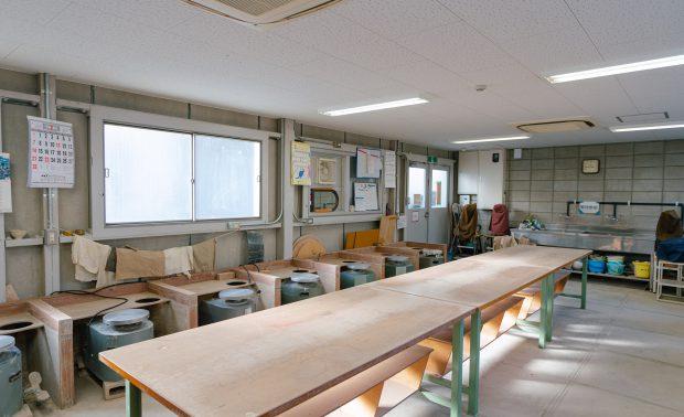 陶芸木工室